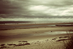 Op de Schotse kust Royalty-vrije Stock Foto's