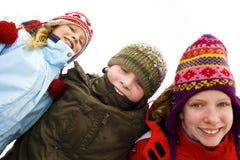 Op de sneeuw Royalty-vrije Stock Foto's