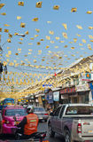 Op de straat in Bangkok Stock Foto's