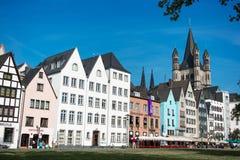 Op de straten van Keulen Royalty-vrije Stock Fotografie