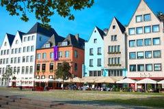 Op de straten van Keulen Royalty-vrije Stock Afbeelding