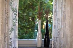 Op de vensterbank Royalty-vrije Stock Fotografie