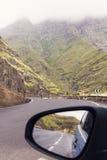 Op de weg - het Eiland van Gran Canaria royalty-vrije stock afbeeldingen