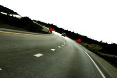 Op de weg opnieuw Stock Fotografie