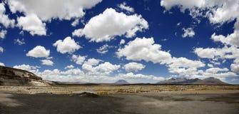 Op de weg voor Cuzco Stock Foto