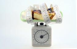 Op dieet stock foto's