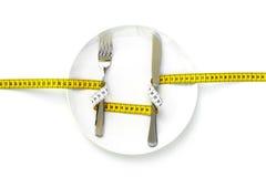 Op een dieet Stock Foto's