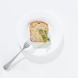 Op een dieet stock fotografie