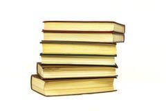 Op een lichte oppervlakte zijn er een stoppin van verscheidene boeken Royalty-vrije Stock Foto