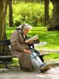 Op een pensioen Stock Foto's