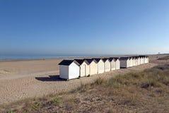 Op een strand in Frankrijk Royalty-vrije Stock Afbeelding
