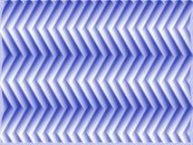Op het Blauw van de Vissen van de Schaal van de Kunst Royalty-vrije Stock Foto