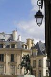 Op het centrum van de Plaats des Victoires Royalty-vrije Stock Foto
