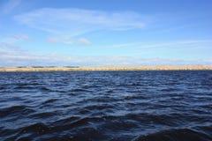 Op het meer Royalty-vrije Stock Afbeeldingen