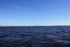 Op het meer Stock Foto