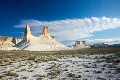 Op het Plateau van Ustyurt stock fotografie