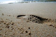 Op het strand royalty-vrije stock fotografie