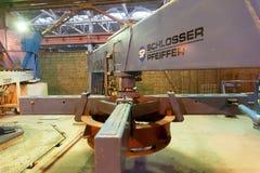 Op installatie van gewapend betonproducten royalty-vrije stock foto's
