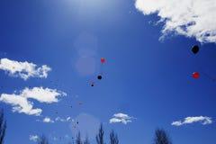 Op kan 9 Rusland, prazdnovanie van Victory Day Republiek van Bashkortostan stock afbeeldingen