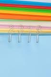 2019 op kleurrijk document Stock Afbeeldingen