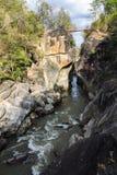 Op long nationaal park, Chiangmai Thailand Stock Afbeelding