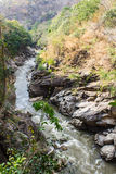 Op long nationaal park, Chiangmai Thailand Royalty-vrije Stock Foto's