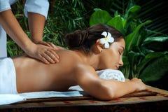 Op massage stock foto