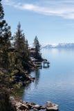 Op Meer Tahoe royalty-vrije stock foto's
