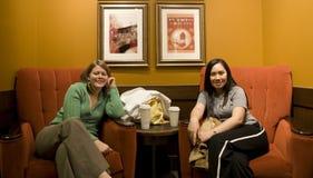 Op om het even welk ogenblik genietend van koffie Royalty-vrije Stock Fotografie