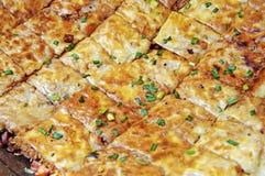 Op smaak gebrachte snacks Stock Fotografie