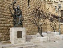 Op steet van Jeruzalem, stad royalty-vrije stock foto