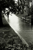 Op stille straten stock afbeeldingen