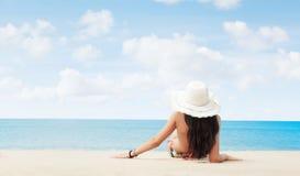 Op strand Stock Afbeeldingen