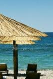 Op strand dichte omhooggaand Royalty-vrije Stock Afbeelding