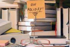 Op Vakantie stock afbeelding