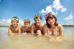 Op vakantie Stock Fotografie