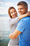 Op vakanties samen royalty-vrije stock fotografie