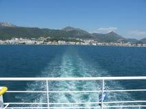 Op veerboot Royalty-vrije Stock Foto