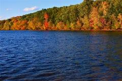 Op Walden in de Herfst Stock Afbeeldingen