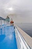 Op zee sloependek Stock Afbeelding
