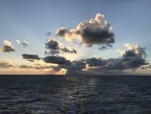 Op zee verloren royalty-vrije stock fotografie