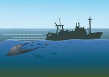 Op zee visserij Royalty-vrije Stock Foto