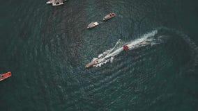 Op zee wateractiviteiten