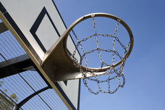 Op zwaar werk berekende Basketbalhoepel Royalty-vrije Stock Foto