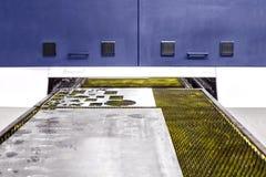 Op zwaar werk berekende industriële lasersnijder royalty-vrije stock foto's