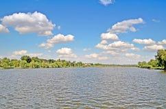 Opacifie la rivière Photo libre de droits