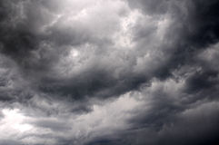 opacifie la tempête excessive images stock
