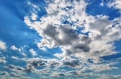 opacifie le blanc de cumulus image libre de droits
