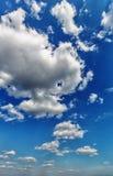 opacifie le blanc de cumulus photo stock