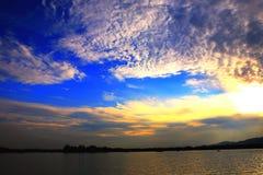 opacifie le ciel images libres de droits